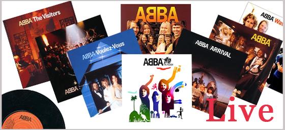 アバ(ABBA)のライブ動画 - アルバムごとに視聴