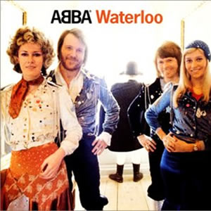 アバ(ABBA)のセカンドアルバム・Waterloo (恋のウォータールー)